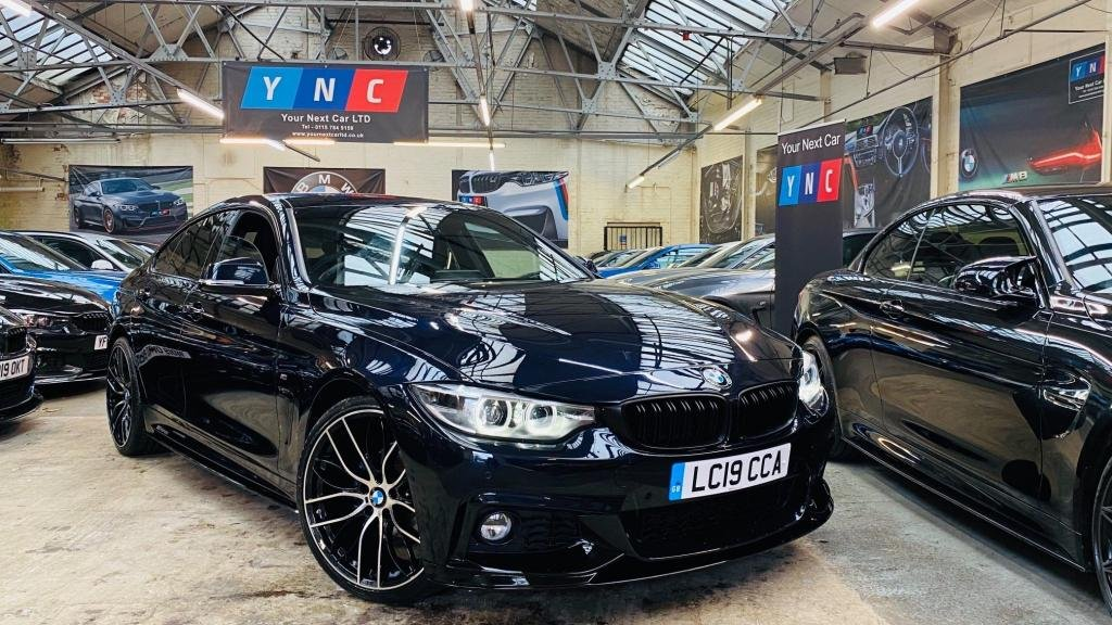 USED 2019 19 BMW 4 SERIES 2.0 420i GPF M Sport Gran Coupe Auto (s/s) 5dr PERFORMANCEKIT+20S+ALEXA!!