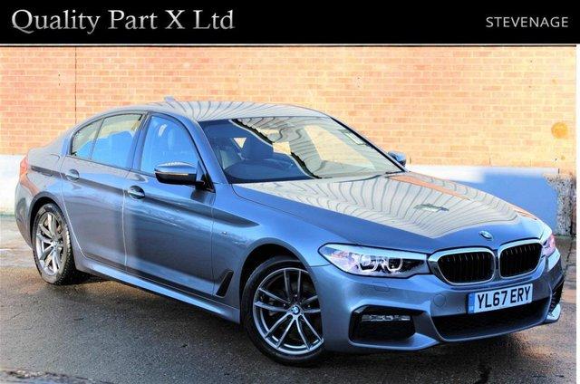 USED 2018 67 BMW 5 SERIES 2.0 520i M Sport Auto (s/s) 4dr SATNAV,BLUETOOTH,XENON,GESTURE