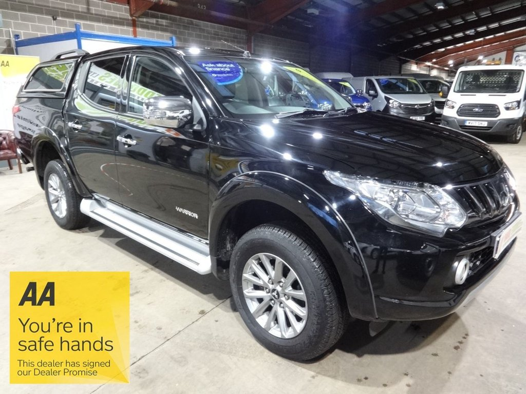 USED 2018 68 MITSUBISHI L200 2.4 DI-D 4WD WARRIOR DCB 178 BHP DOUBLE CAB PICK UP - AA DEALER PROMISE - TRADING STANDARDS APPROVED -