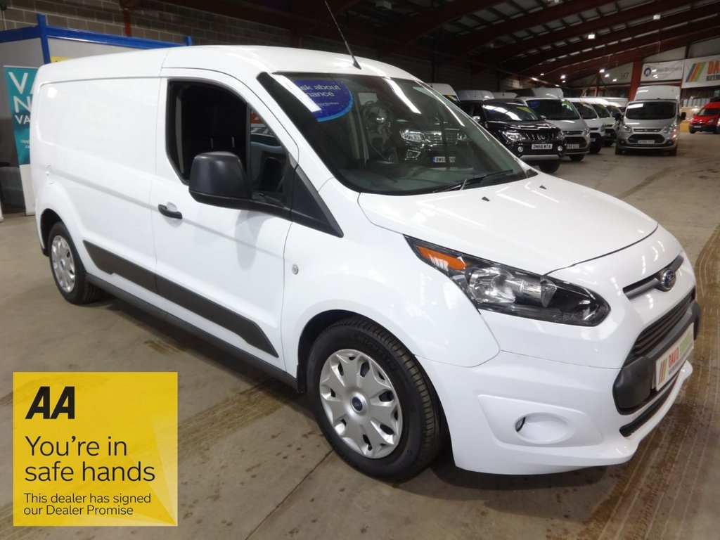 USED 2017 67 FORD TRANSIT CONNECT 1.5 210 TREND P/V 100 BHP L2 LWB VAN - AA DEALER PROMISE - TRADING STANDARDS APPROVED -