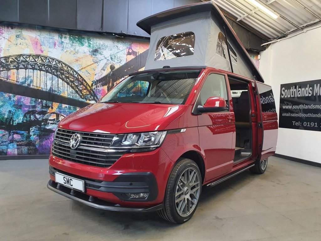 USED 2021 70 VOLKSWAGEN T6.1 Campervan TDi T28 Highline 110 Bhp