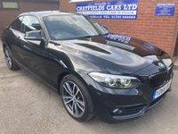 2018 BMW 2 SERIES 2.0 220I SPORT 2d AUTO 181 BHP £15990.00