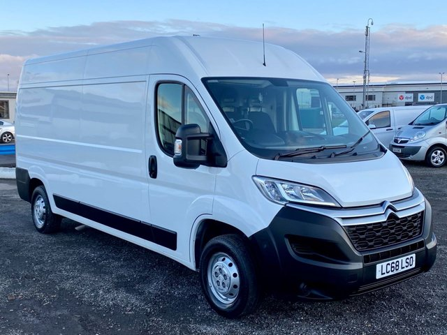 2018 68 CITROEN RELAY 2.0 35 L3H2 ENTERPRISE BLUEHDI 129 BHP AIR CON SAT NAV EURO 6