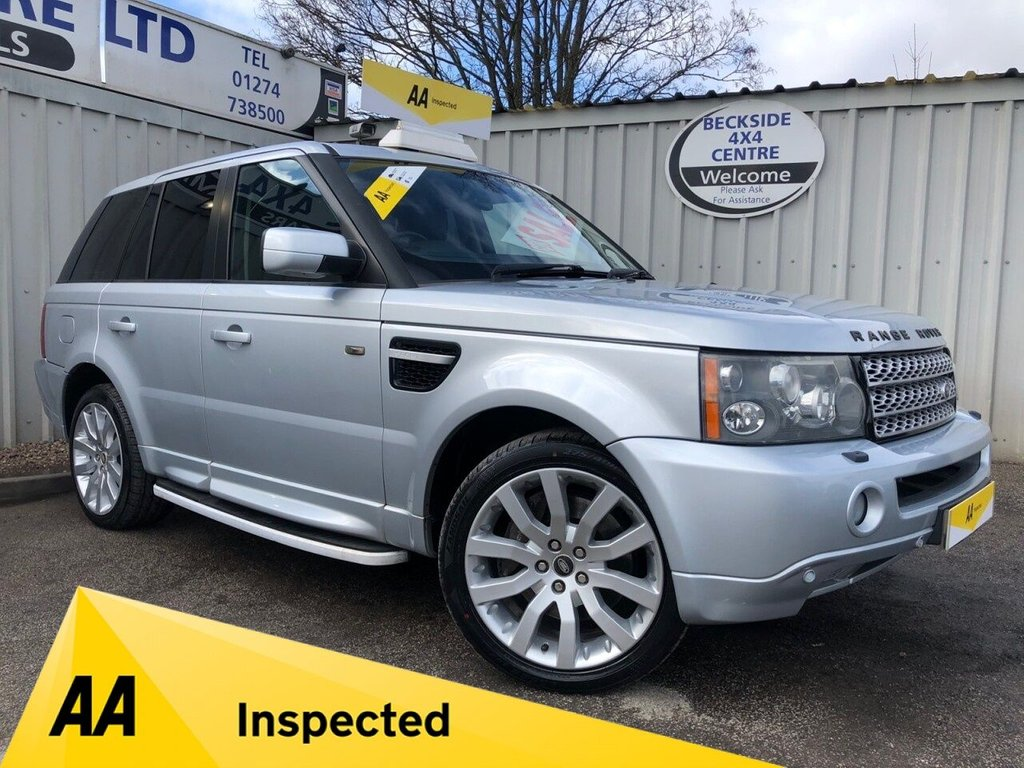 USED 2007 07 LAND ROVER RANGE ROVER SPORT RANGE ROVER SPORT 2.7 TDV6 HSE AUTO AA INSPECTED. FINANCE. WARRANTY. LOW MILEAGE. MANY EXTRAS