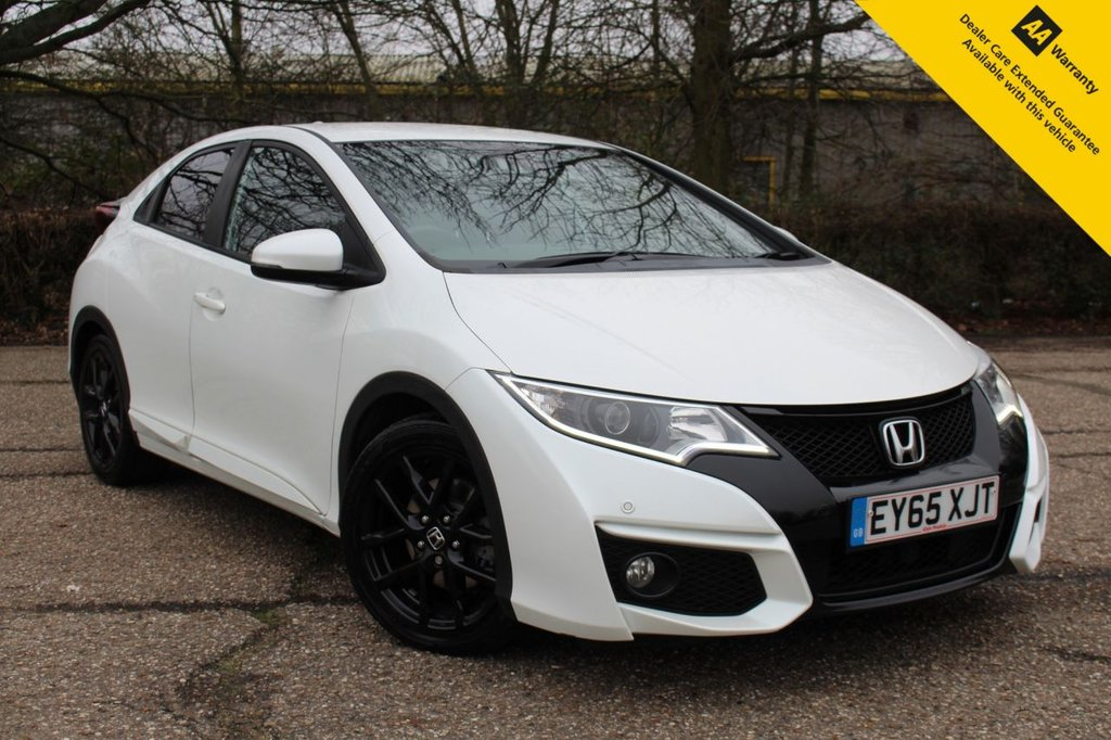USED 2015 65 HONDA CIVIC 1.8 I-VTEC SPORT NAVI 5d 140 BHP ** 1 OWNER FROM NEW ** FULL HONDA SERVICE HISTORY ** FULL LEATHER INTERIOR + HEATED SEATS ** SATELLITE NAVIGATION ** REAR PARKING CAMERA ** FRONT + REAR PARKING AID ** CRUISE CONTROL ** BLUETOOTH ** DAB RADIO ** ULEZ CHARGE EXEMPT ** CLICK & COLLECT + NATIONWIDE DELIVERY AVAILABLE ** BUILD & SAVE YOUR DEAL ONLINE TODAY ** BUY ONLINE IN CONFIDENCE FROM A MULTI AWARD WINNING 5* RATED DEALERSHIP **