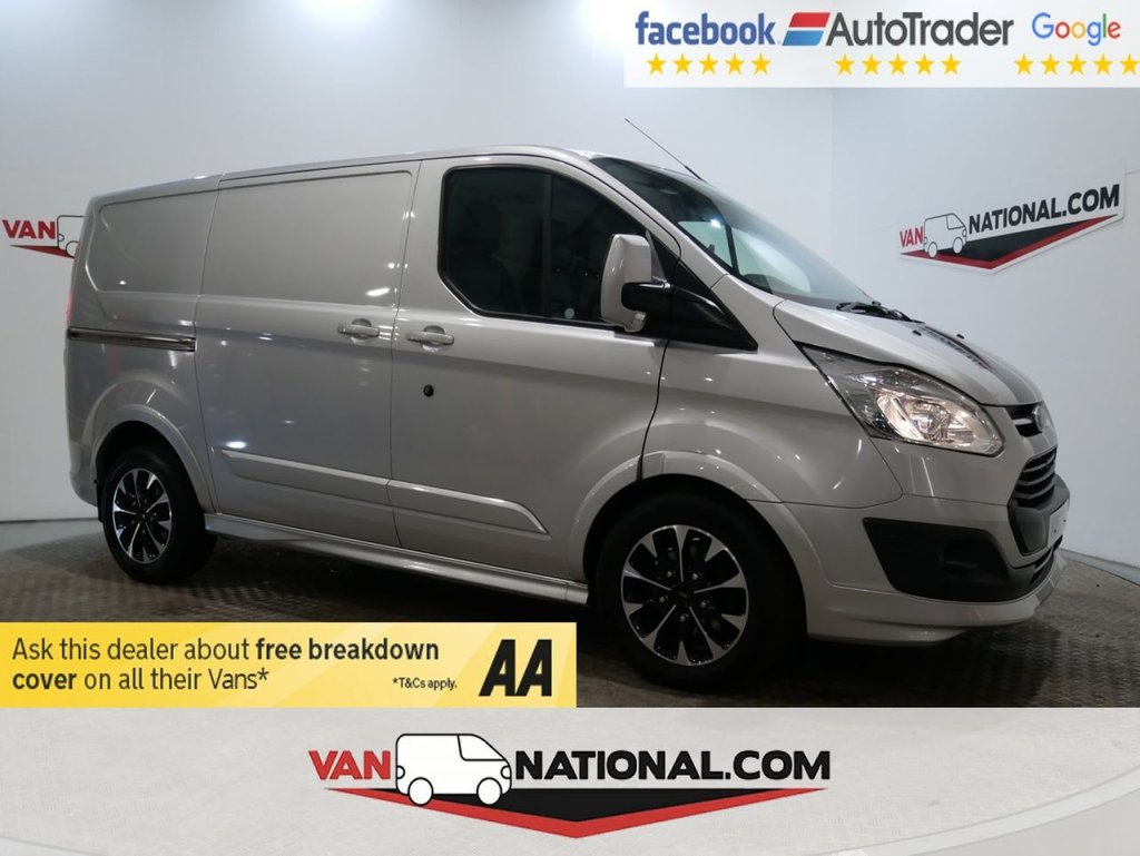 USED 2017 67 FORD TRANSIT CUSTOM 290 L1 2.0 TDCI 170 BHP SPORT AUTO *TAILGATE*EURO 6*TWIN SIDE DOORS* * ONE OWNER * EURO 6 * AUTO * ZERO DEPOSIT FINANCE AVAILABLE *