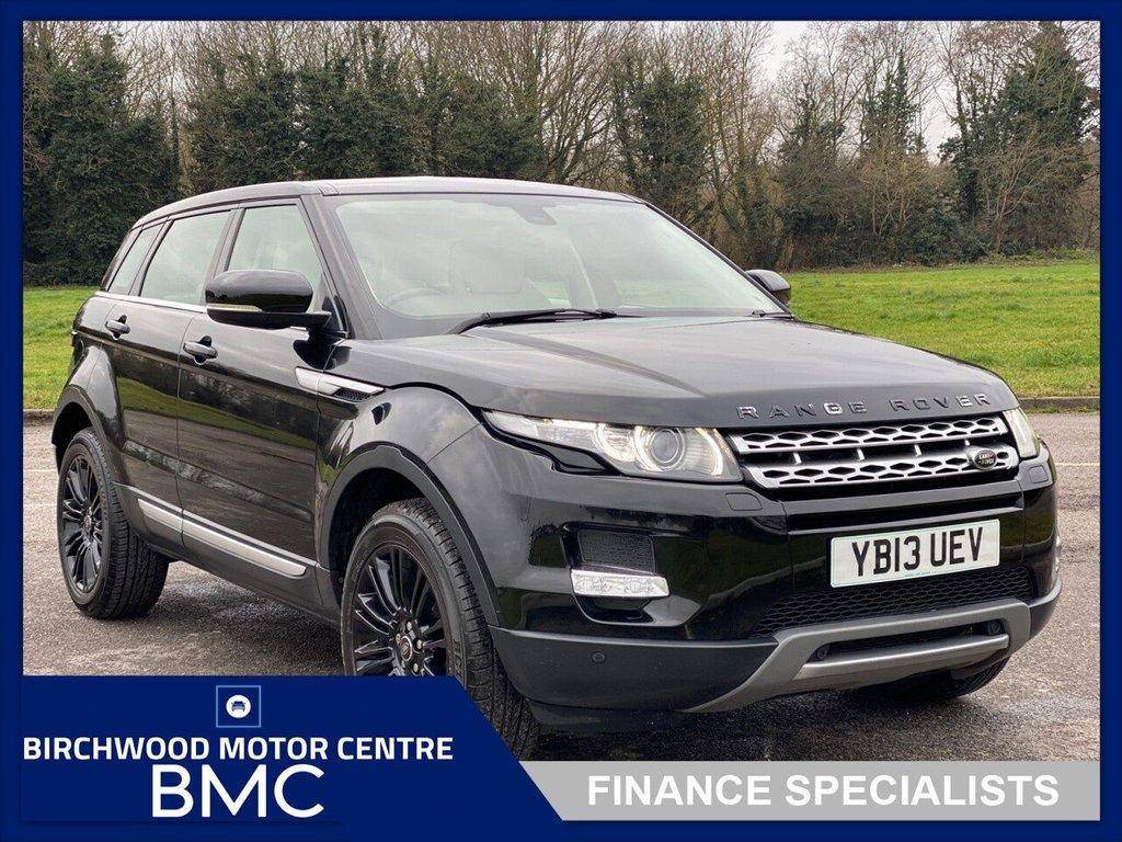 USED 2013 13 LAND ROVER RANGE ROVER EVOQUE 2.2 SD4 PRESTIGE 5d 190 BHP, AUTOMATIC, Just 74,875miles With FSH, SAT NAV, REVERSE CAMERA, FULL LEATHER TRIM, HEATED ELECTRIC SEATS, CRUISE CONTROL