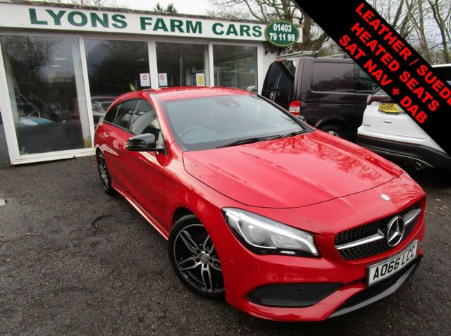 USED 2016 66 MERCEDES-BENZ CLA 2.1 CLA 220 D AMG LINE TIPTRONIC 5d 174 BHP AUTOMATIC One Owner, Mercedes-Benz Service History + Just Serviced, NEW MOT, Automatic, Superb fuel economy! Only £20 Road Tax! Diesel