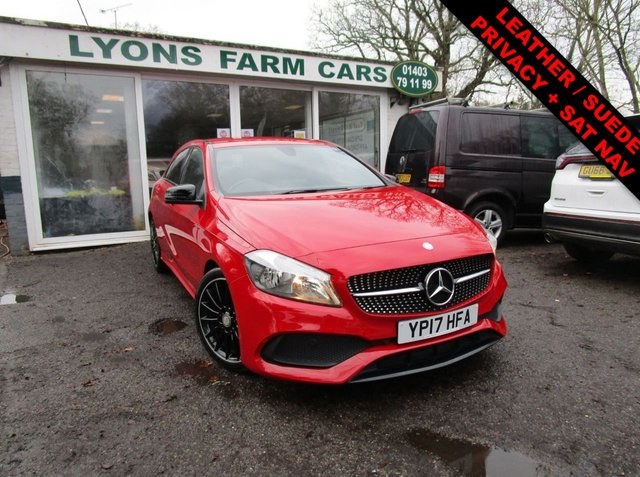 USED 2017 17 MERCEDES-BENZ A-CLASS 2.1 A 200 D AMG LINE 5d 134 BHP Just Serviced, NEW MOT, Superb fuel economy! Diesel