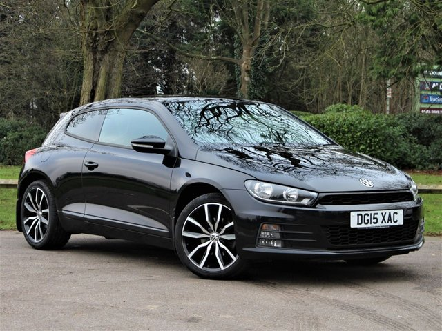 USED 2015 15 VOLKSWAGEN SCIROCCO 2.0 GT TDI BLUEMOTION TECHNOLOGY DSG 2d 150 BHP £222 PCM With £1249 Deposit