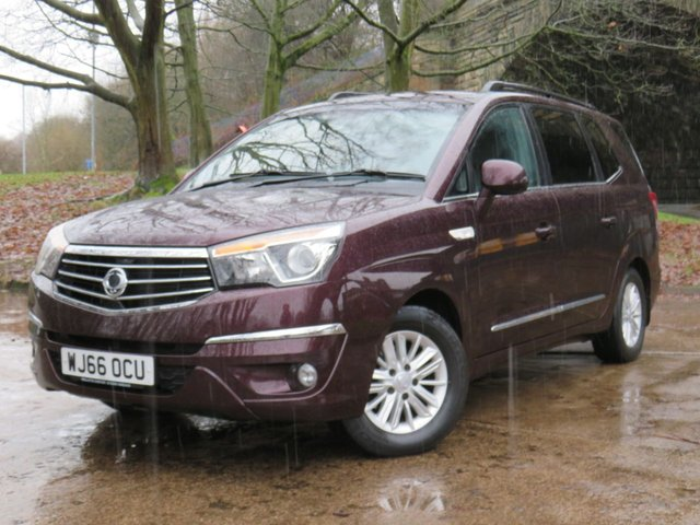 USED 2016 66 SSANGYONG RODIUS TURISMO 2.2 EX 5d 176 BHP