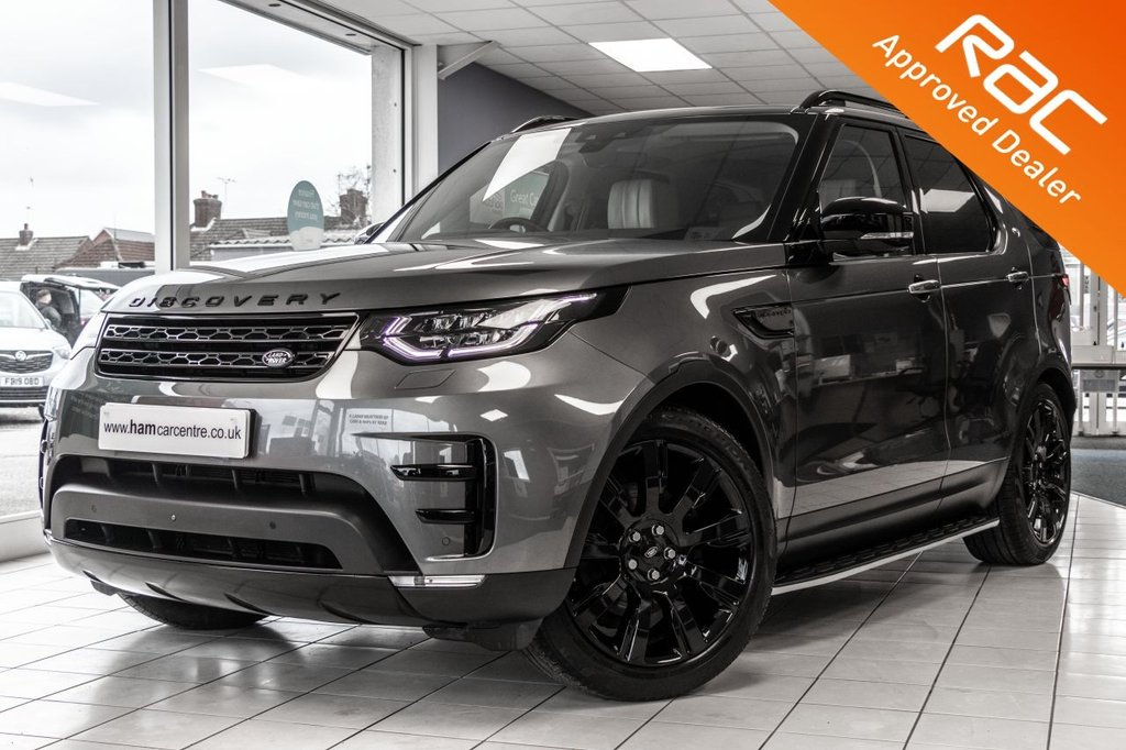 USED 2017 67 LAND ROVER DISCOVERY 2.0 SD4 HSE LUXURY 5d 237 BHP ONE OWNER ONLY 25500 MILES