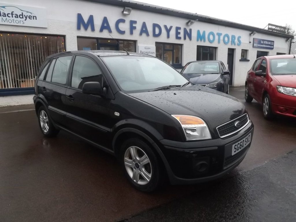 USED 2010 60 FORD FUSION 1.6 ZETEC 5d 100 BHP