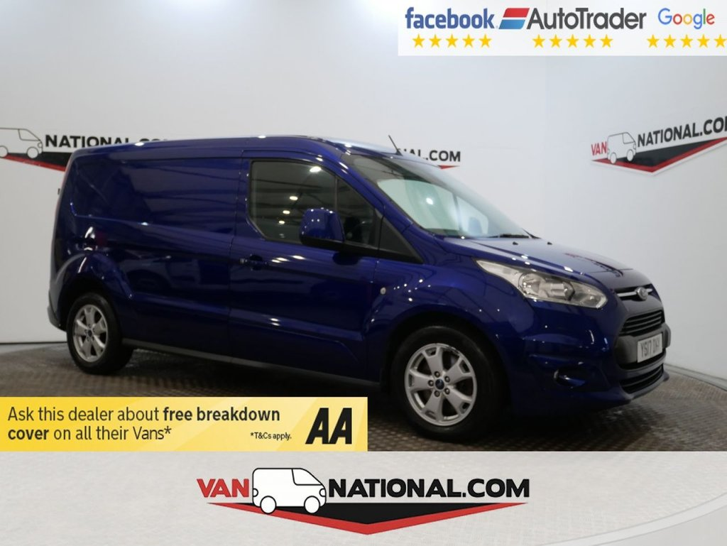 USED 2017 17 FORD TRANSIT CONNECT 1.5 240 LIMITED P/V 120 BHP L2 LWB *EURO 6*AIR CON* * ONE OWNER * EURO 6 * LWB * A/C * ZERO DEPOSIT FINANCE AVAILABLE *