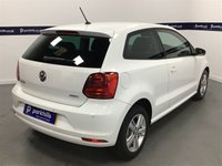 USED 2017 17 VOLKSWAGEN POLO 1.0 MATCH EDITION 3d 60 BHP (PARK SENSORS - LOW INSURANCE)