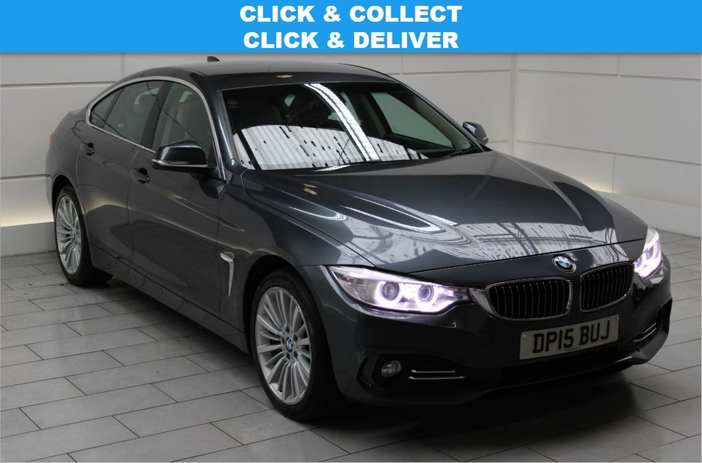 USED 2015 15 BMW 4 SERIES 2.0 420d Luxury Gran Coupe Auto xDrive (start/stop)
