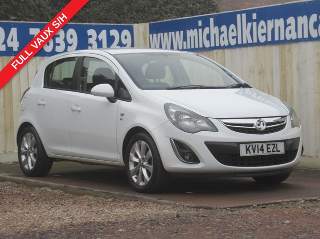 USED 2014 14 VAUXHALL CORSA 1.2 EXCITE AC 5d 83 BHP IMMACULATE CAR