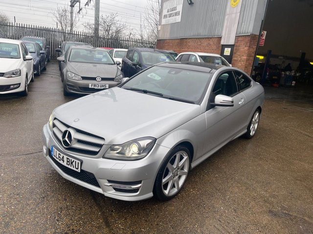 USED 2015 64 MERCEDES-BENZ C-CLASS 1.6 C180 AMG SPORT EDITION 2d 154 BHP