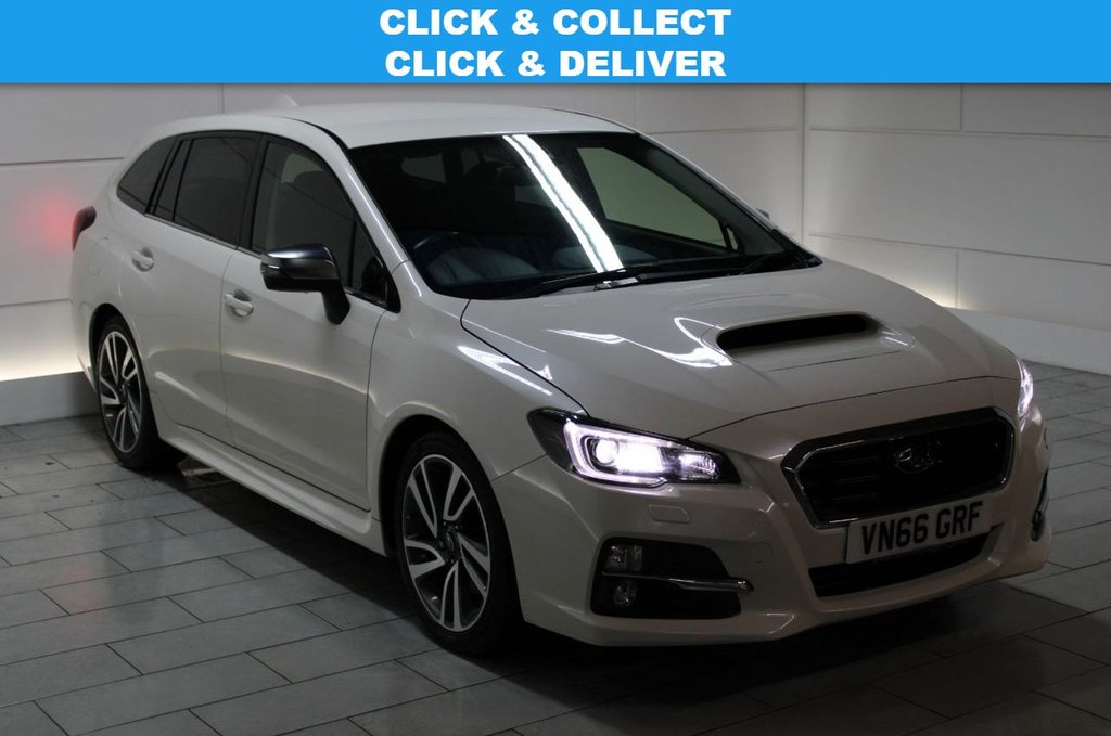 USED 2017 66 SUBARU LEVORG 1.6i GT Sport Tourer Lineartronic 4WD Auto (start/stop)[170]