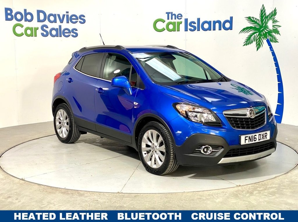 USED 2016 16 VAUXHALL MOKKA 1.6 SE CDTI S/S 5d 134 BHP Heated Leather Bluetooth Park Sensors only 29000 miles
