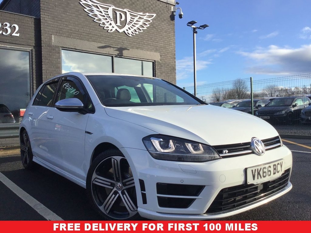 USED 2016 66 VOLKSWAGEN GOLF 2.0 R 5d 298 BHP FINANCE RATES FROM 5.9% APR
