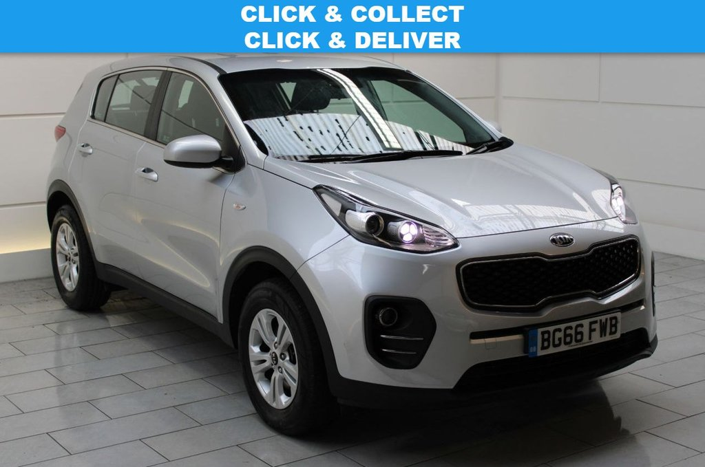 USED 2016 66 KIA SPORTAGE 1.7 CRDi 1 (start/stop)