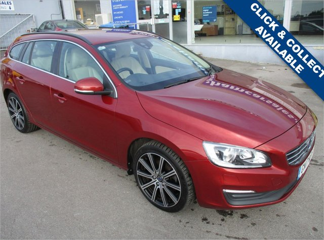 USED 2017 17 VOLVO V60 2.0 D4 SE NAV 5d 188 BHP STUNNING CONDITION AND DRIVE