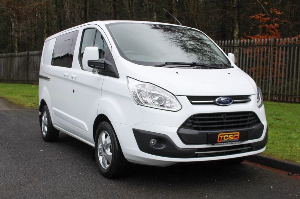 USED 2016 66 FORD TRANSIT CUSTOM 2.0 290 LIMITED LR DCB 129 BHP A 6 SEAT COMBI VAN WITH NO VAT TO BE ADDED!!!
