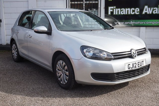 USED 2012 12 VOLKSWAGEN GOLF 1.2 S TSI 5d 84 BHP 2 Owners, 5 Service Stamps, Only 49,000 miles from New
