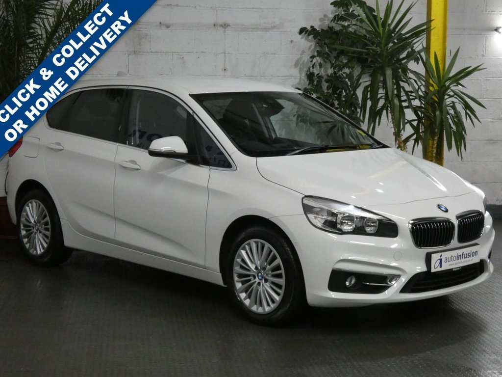 USED 2016 66 BMW 2 SERIES 2.0 220I LUXURY ACTIVE TOURER 5d 189 BHP SAT NAV LEATHER HEATED SEATS