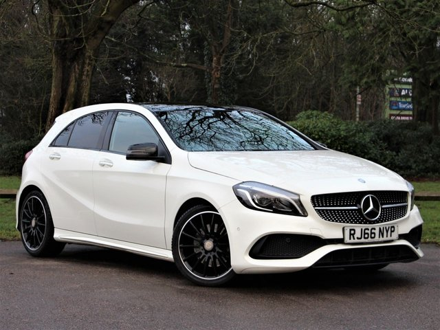 USED 2016 66 MERCEDES-BENZ A-CLASS 2.1 A 220 D AMG LINE PREMIUM PLUS 5d 174 BHP £238 PCM With £1699 Deposit