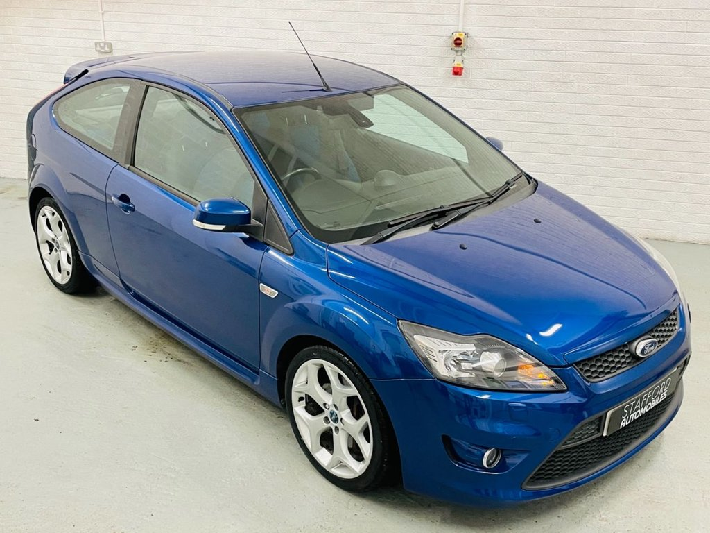 USED 2010 60 FORD FOCUS 2.5 ST-2 3d 223 BHP LOW MILES, STUNNING CAR, FINANCE AVAILABLE