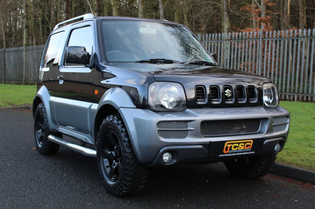 USED 2009 59 SUZUKI JIMNY 1.3 JLX PLUS 3d 83 BHP A STUNNING JIMNY WITH ALMOST NEW CHUNKY INSA TYRES, SERVICE HISTORY AND MORE!!!