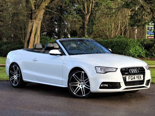 USED 2014 14 AUDI A5 3.0 TDI QUATTRO S LINE SPECIAL EDITION 2d 242 BHP £279 PCM With £1569 Deposit