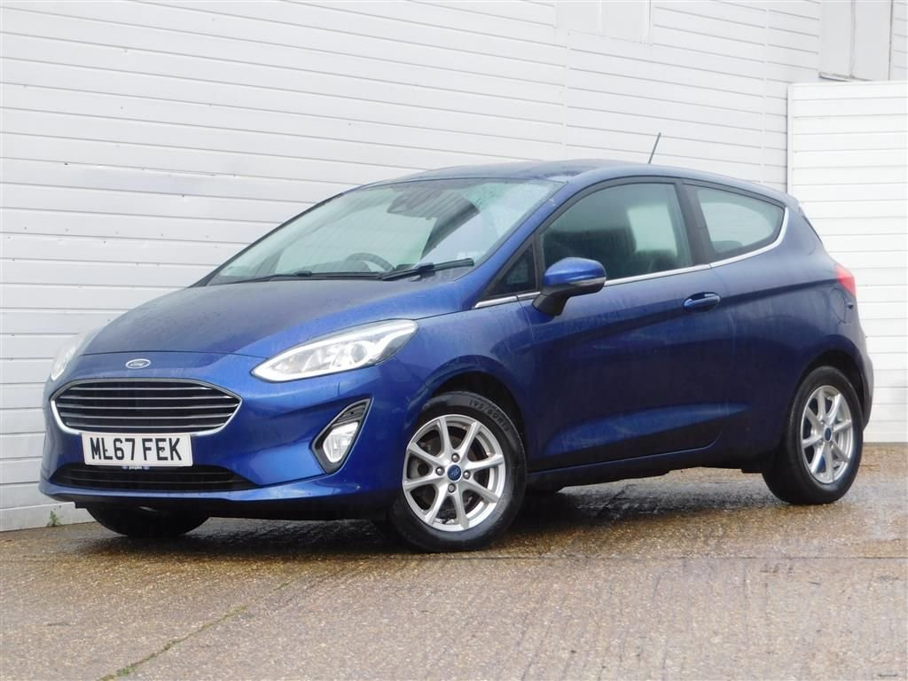 USED 2017 67 FORD FIESTA 1.1 ZETEC 3d 85 BHP CHOICE OF 5 AVAILABLE IN STOCK