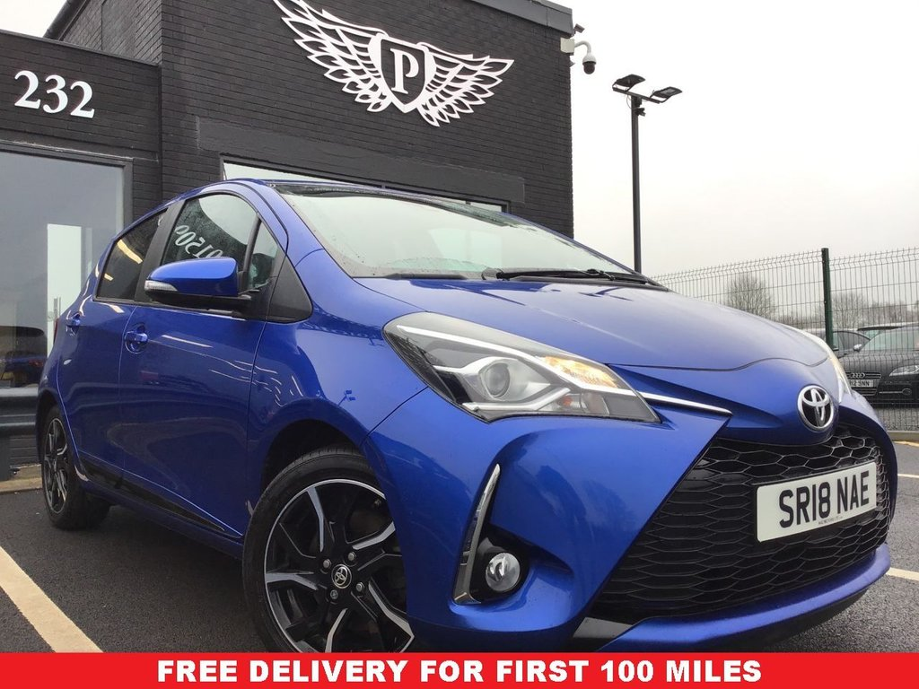 USED 2018 18 TOYOTA YARIS 1.5 VVT-I DESIGN 5d 110 BHP  This vehicle is Category N. The vehicle has been professionally repaired to an exceptional standard and has had a comprehensive check over to ensure that the vehicle has been repaired to a high standard.