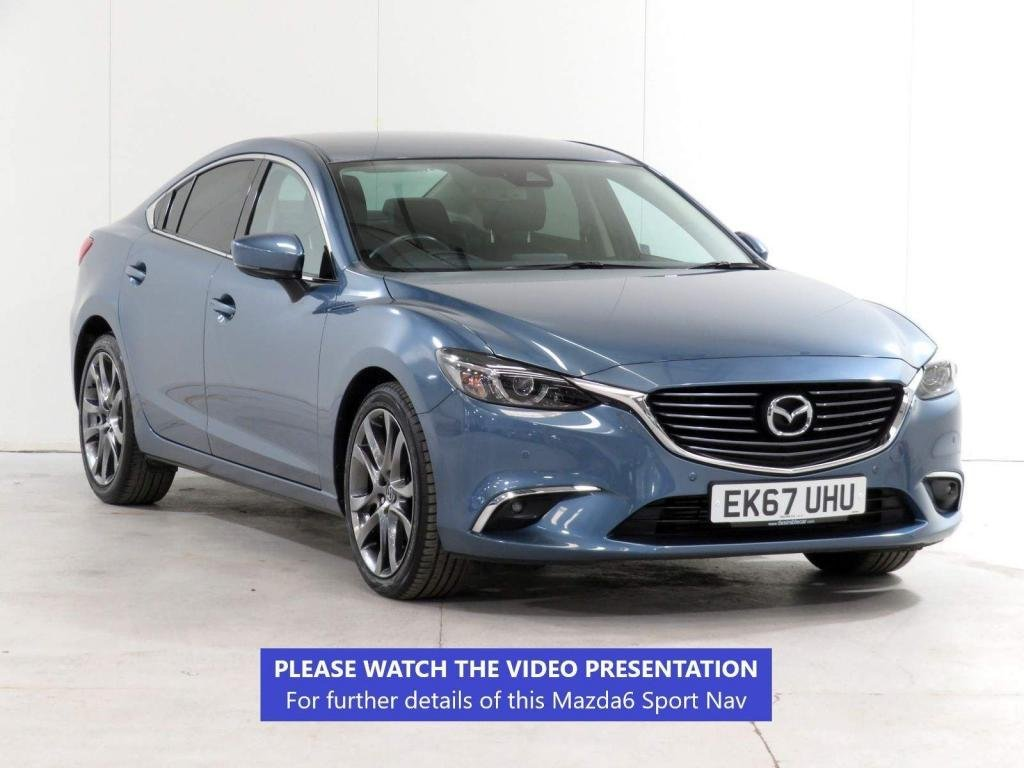 USED 2017 67 MAZDA 6 2.2 SKYACTIV-D Sport Nav (s/s) 4dr HEATED SEATS*CAMERA*BOSE*175PS