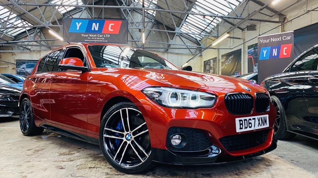 USED 2017 67 BMW 1 SERIES 1.5 116d M Sport Shadow Edition Sports Hatch Auto (s/s) 5dr PERFORMANCEKIT+SHADOWED+18S