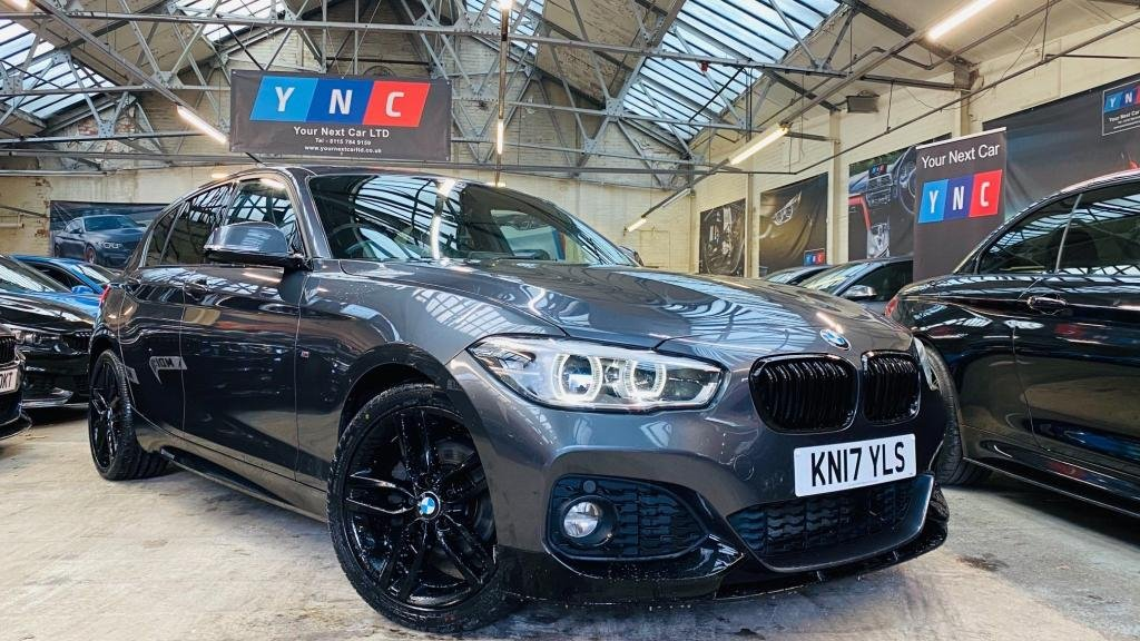 USED 2017 17 BMW 1 SERIES 2.0 120d M Sport Auto (s/s) 5dr PERFORMANCEKIT+FACELIFT+18S
