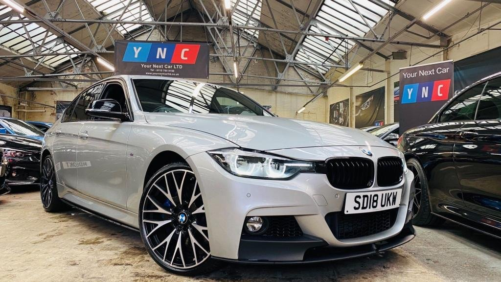USED 2018 18 BMW 3 SERIES 3.0 335d M Sport Shadow Edition Auto xDrive (s/s) 4dr BMWMPERFORMANCEKIT+20S+SHADWED