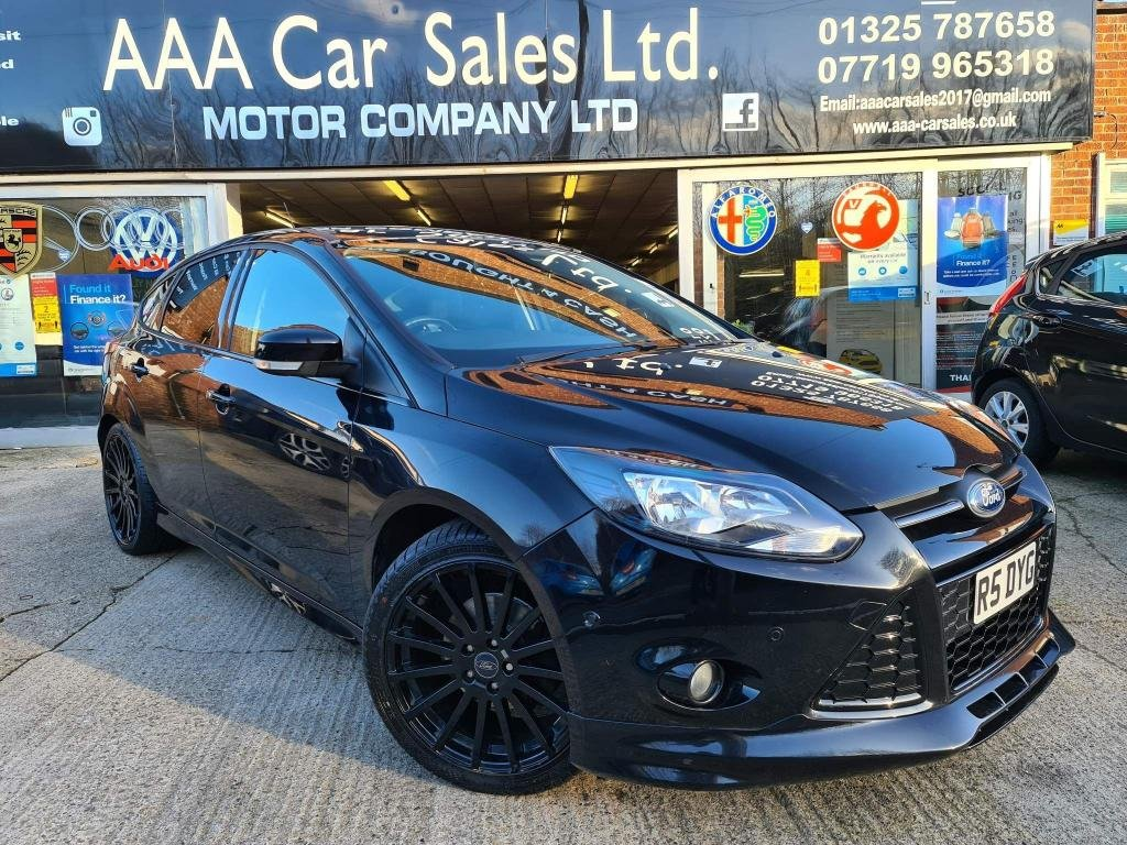 USED 2013 R FORD FOCUS 1.6 TDCi Zetec S 5dr FULL HISTORY BELTS DONE!!!