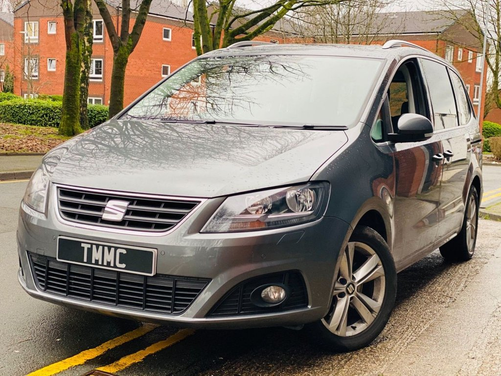 USED 2017 67 SEAT ALHAMBRA 2.0 TDI XCELLENCE DSG (s/s) 5dr 1 Owner|Full Leather|Pana Roof