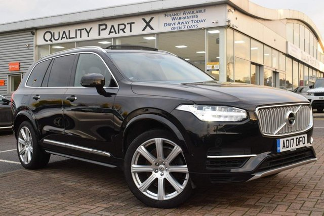 USED 2017 17 VOLVO XC90 2.0h T8 Twin Engine 10.4kWh Inscription Pro Auto 4WD (s/s) 5dr PANROOF CAMERA LEATHERS SATNAV