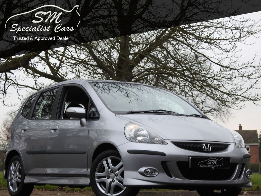 USED 2007 07 HONDA JAZZ 1.3 DSI SPORT 5d 82 BHP ONLY 16K FROM NEW A/C FSH