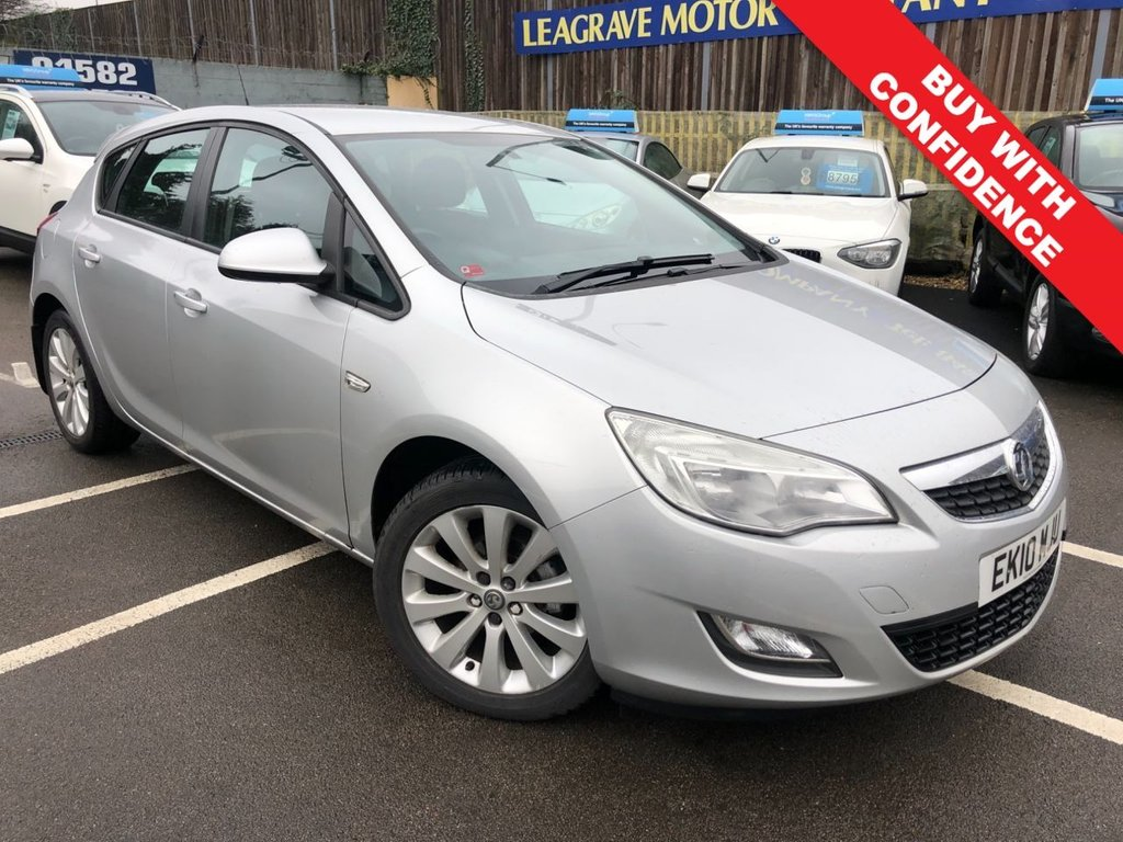 USED 2010 10 VAUXHALL ASTRA 1.6 EXCLUSIV 5d 113 BHP COMES WITH FRESH 12 MONTH MOT