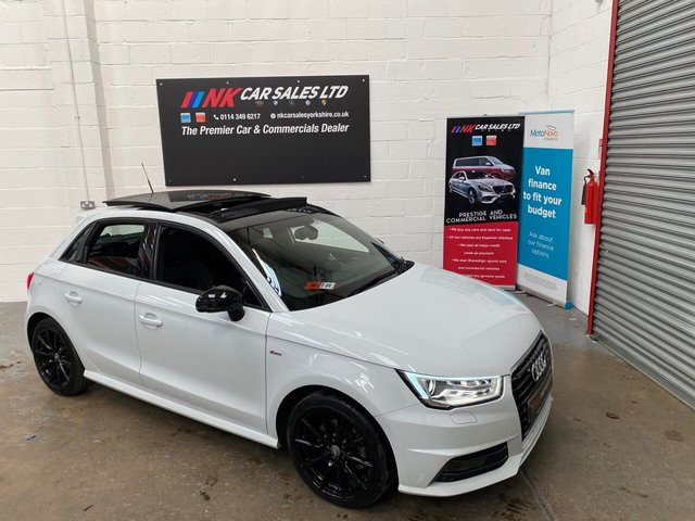 USED 2015 15 AUDI A1 1.4 SPORTBACK TFSI S LINE 5d 148 BHP RARE OPENING PAN ROOF MODEL,TIMING BELT AND WATER PUMP JUST DONE