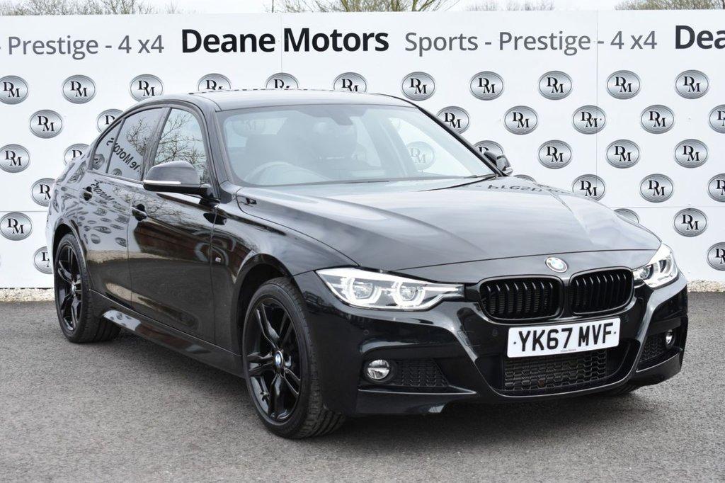 USED 2017 67 BMW 3 SERIES 3.0 330D XDRIVE M SPORT SALOON 255 BHP BLACK PACK