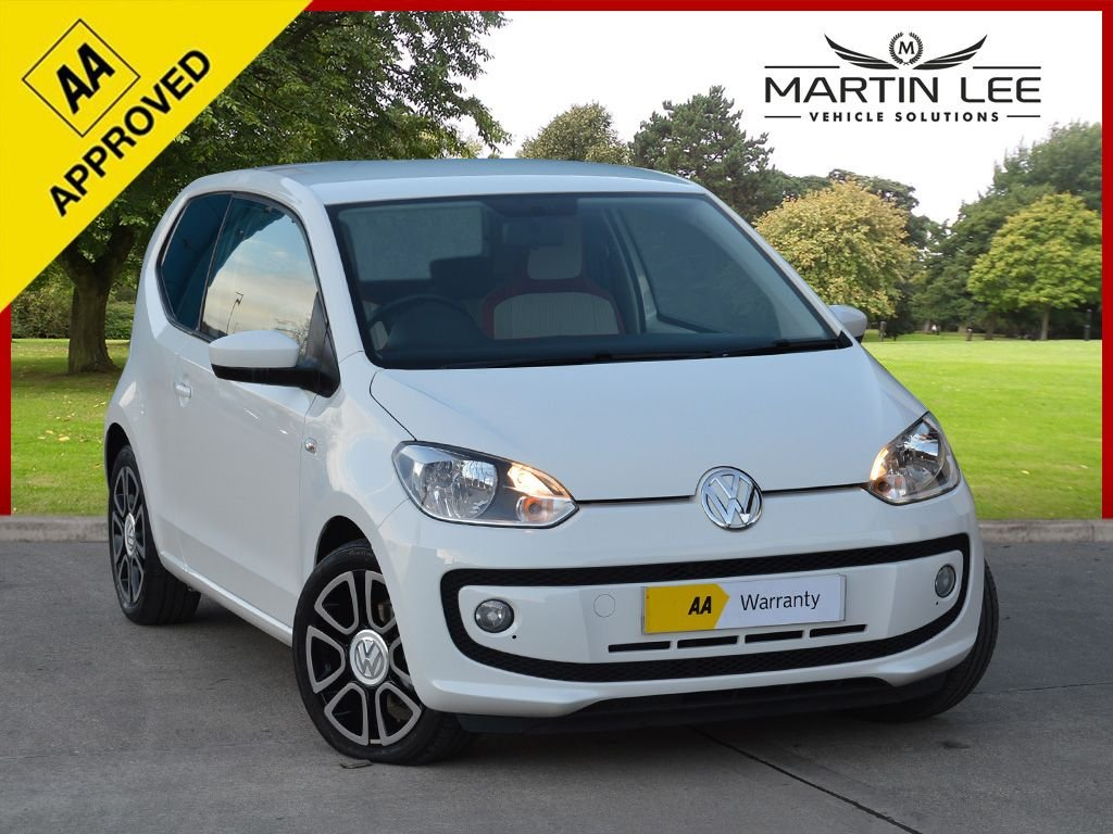 USED 2013 63 VOLKSWAGEN UP 1.0 HIGH UP 3d 74 BHP HIGH SPECIFICATION HIGH UP WITH UNIQUE TWO TONE INTERIOR