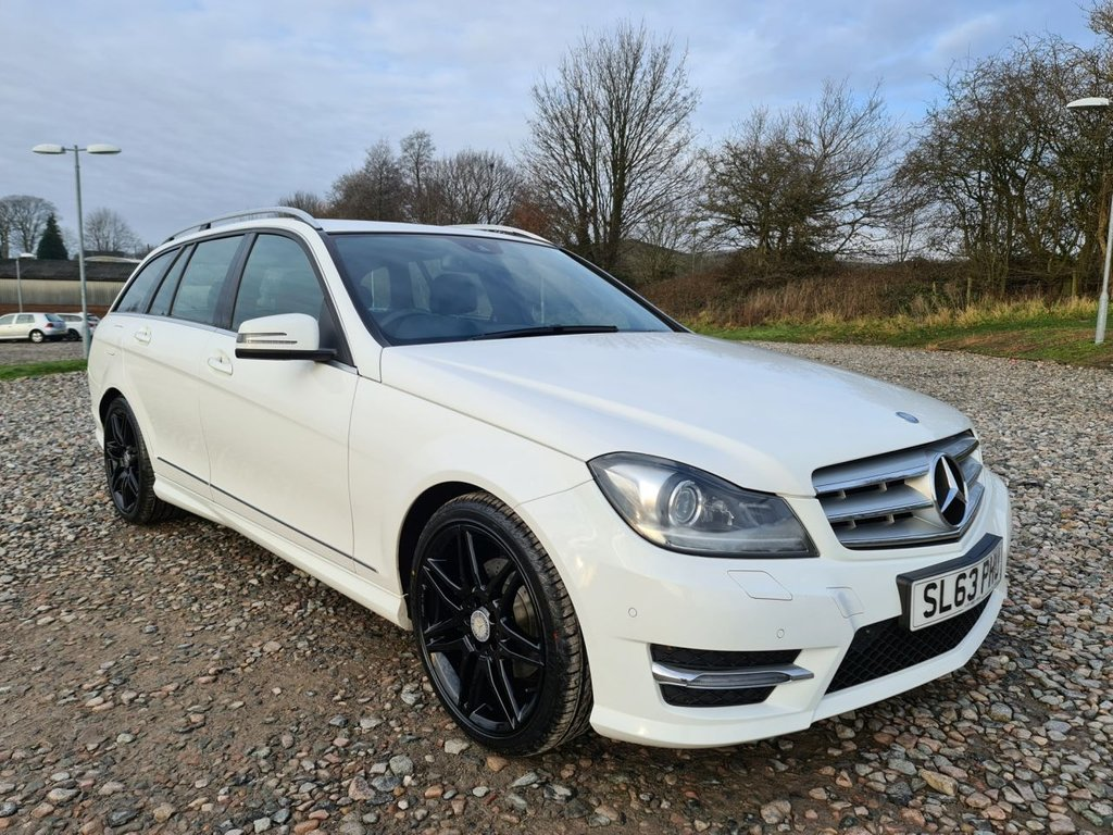 USED 2013 63 MERCEDES-BENZ C-CLASS 2.1 C220 CDI BLUEEFFICIENCY AMG SPORT PLUS 5d 168 BHP Free Next  Day Nationwide  Delivery