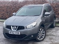 USED 2013 62 NISSAN QASHQAI 1.6 TEKNA IS DCIS/S 5d 130 BHP * FULL HEATED LEATHER INTERIOR * FULL PANORAMIC SUNROOF *